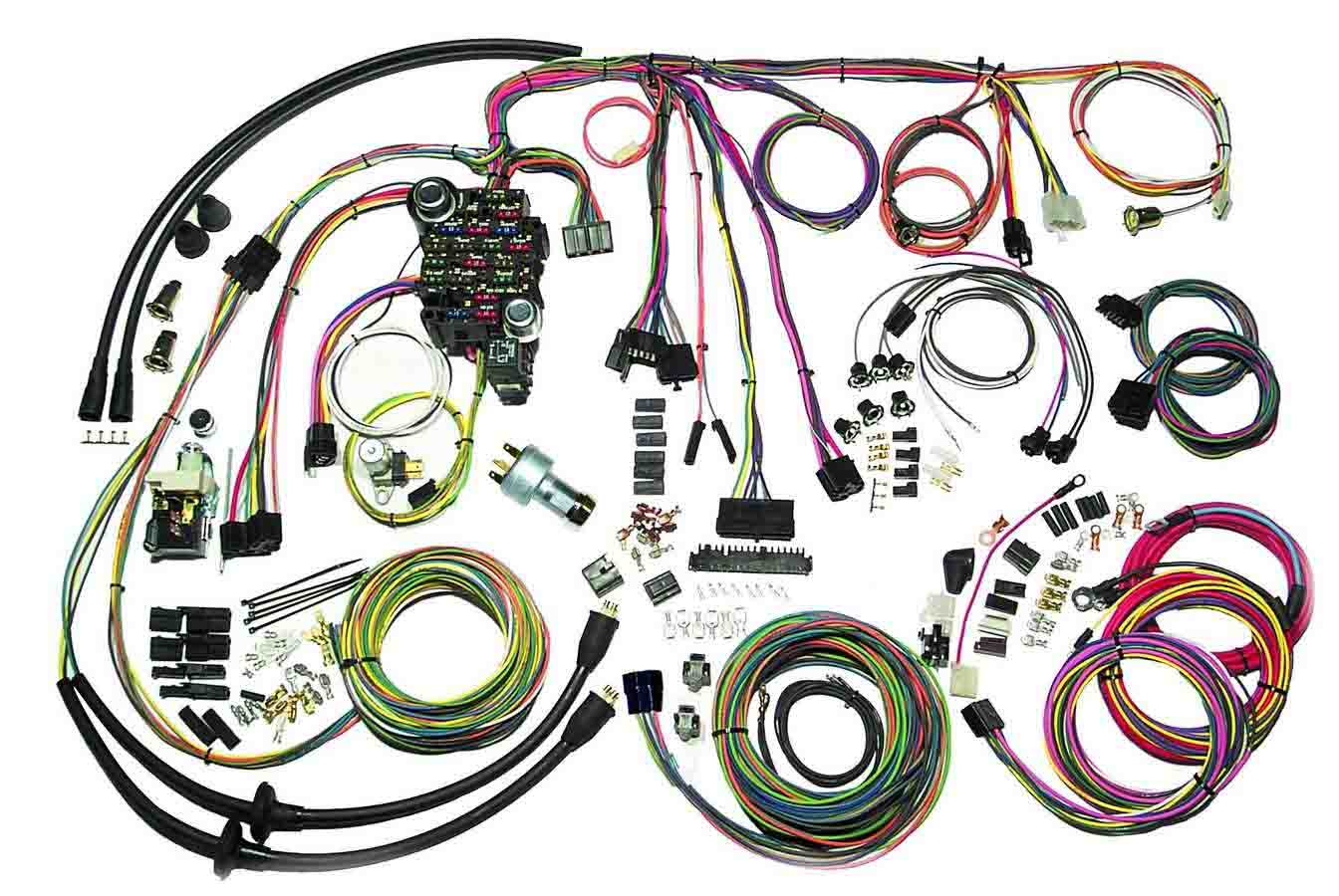 57 Chevy Classic Update Wiring System