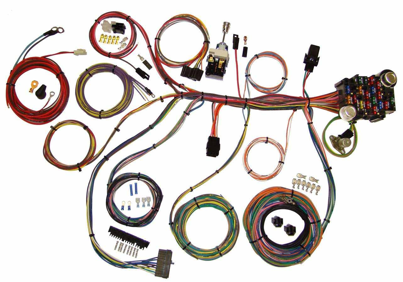Grand Prix Auto Wiring Harness Power Plus 20 Integrated Fuse Box System