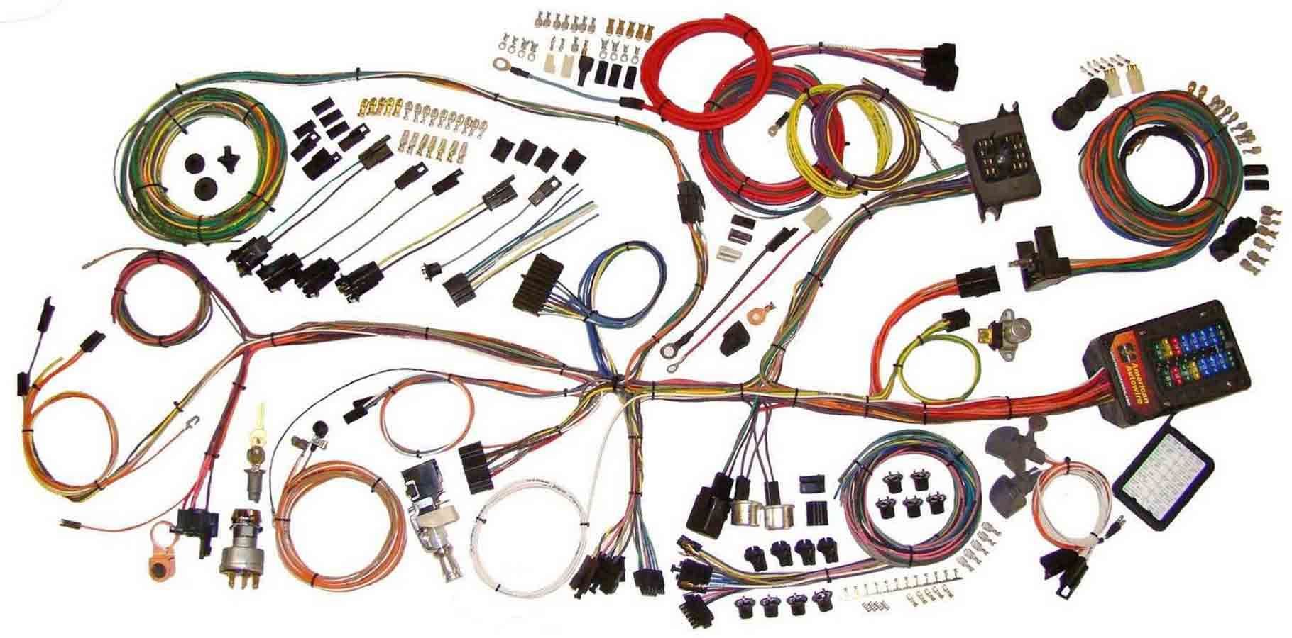1966 Impala Wire Harness Kit Electrical Diagram Schematics Wiring Grand Prix Auto