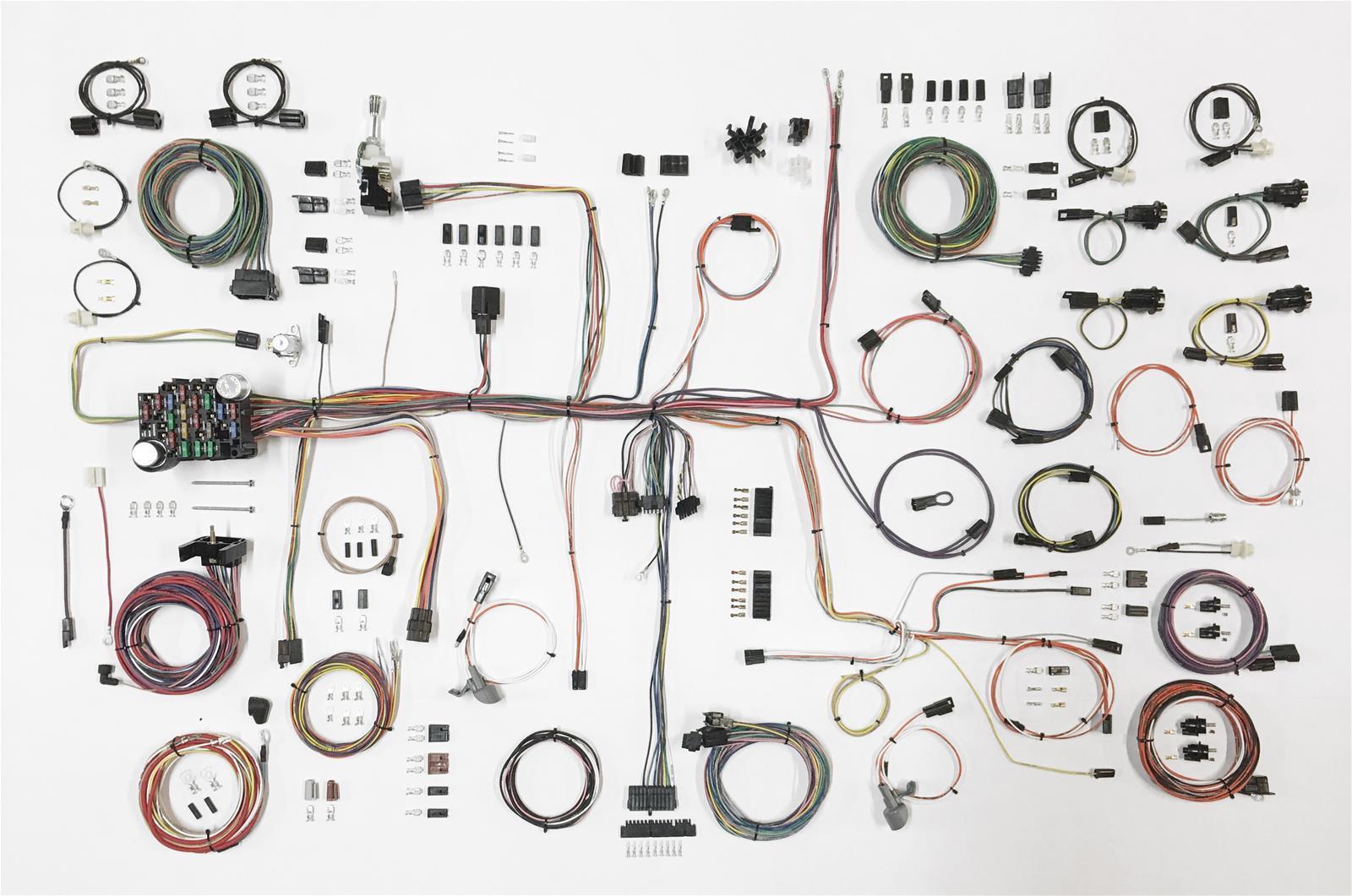 Grand Prix Auto Wiring Harness Kits 68 72 Oldsmobile Cutlass Kit