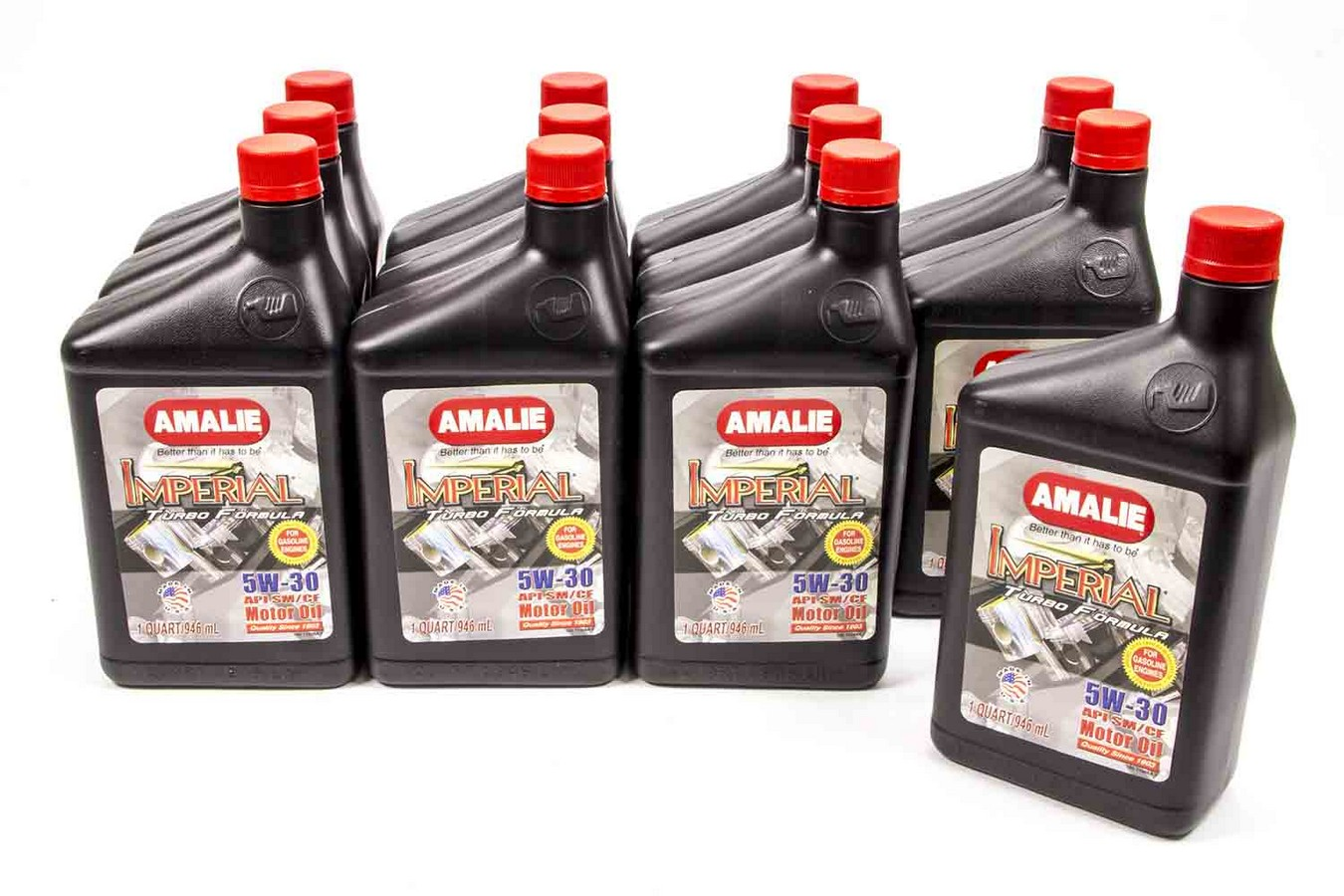 Amalie Imperial Turbo 5w30 Motor Oil 1 Qt Case Of 12 P N