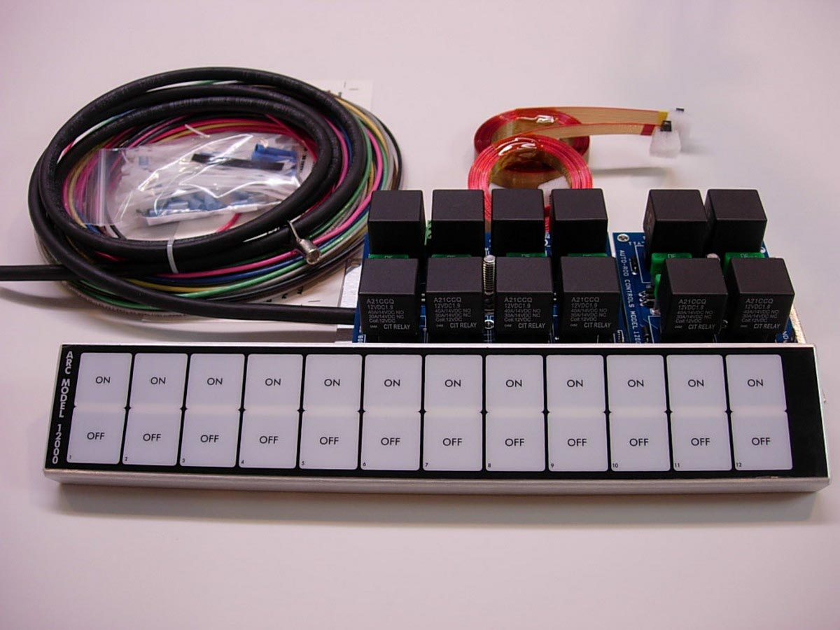 in-dash control module