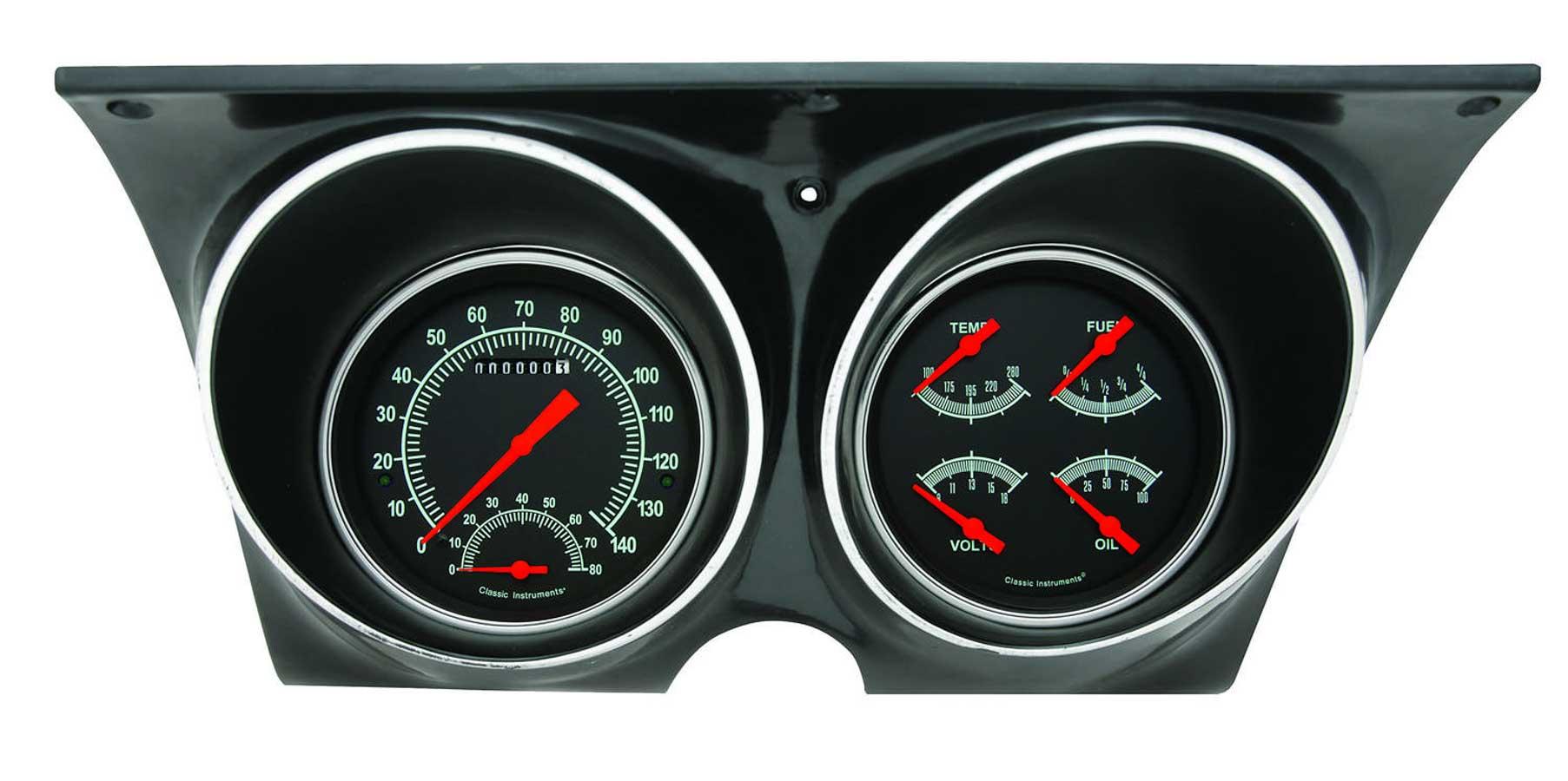 Grand Prix Auto 1968 Camaro Dash Instrument Cluster Circuit Board With Tachometer 67 68 Gauge G Stock Series