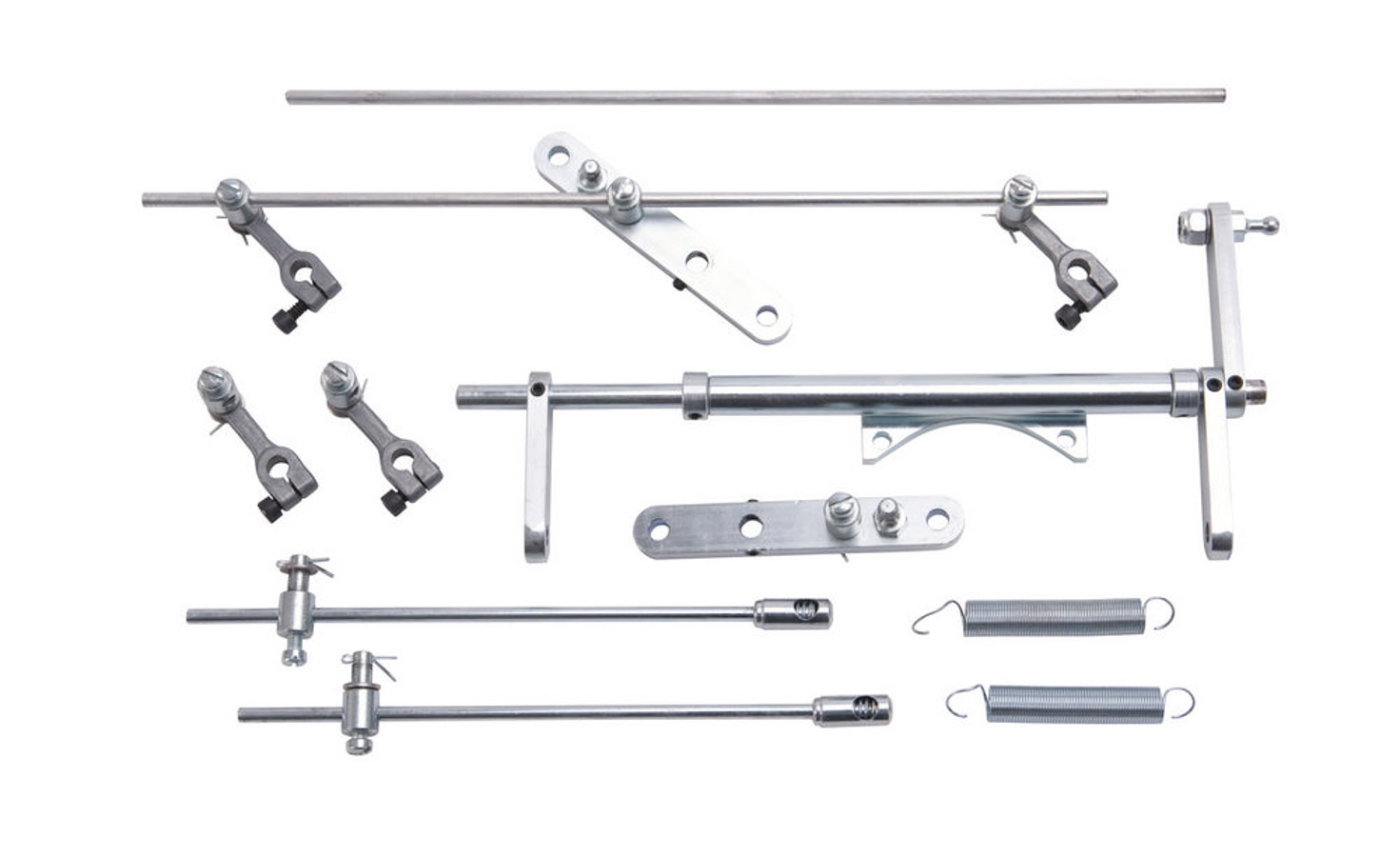 Throttle Linkage Kit - Dual Carb 6x2x1