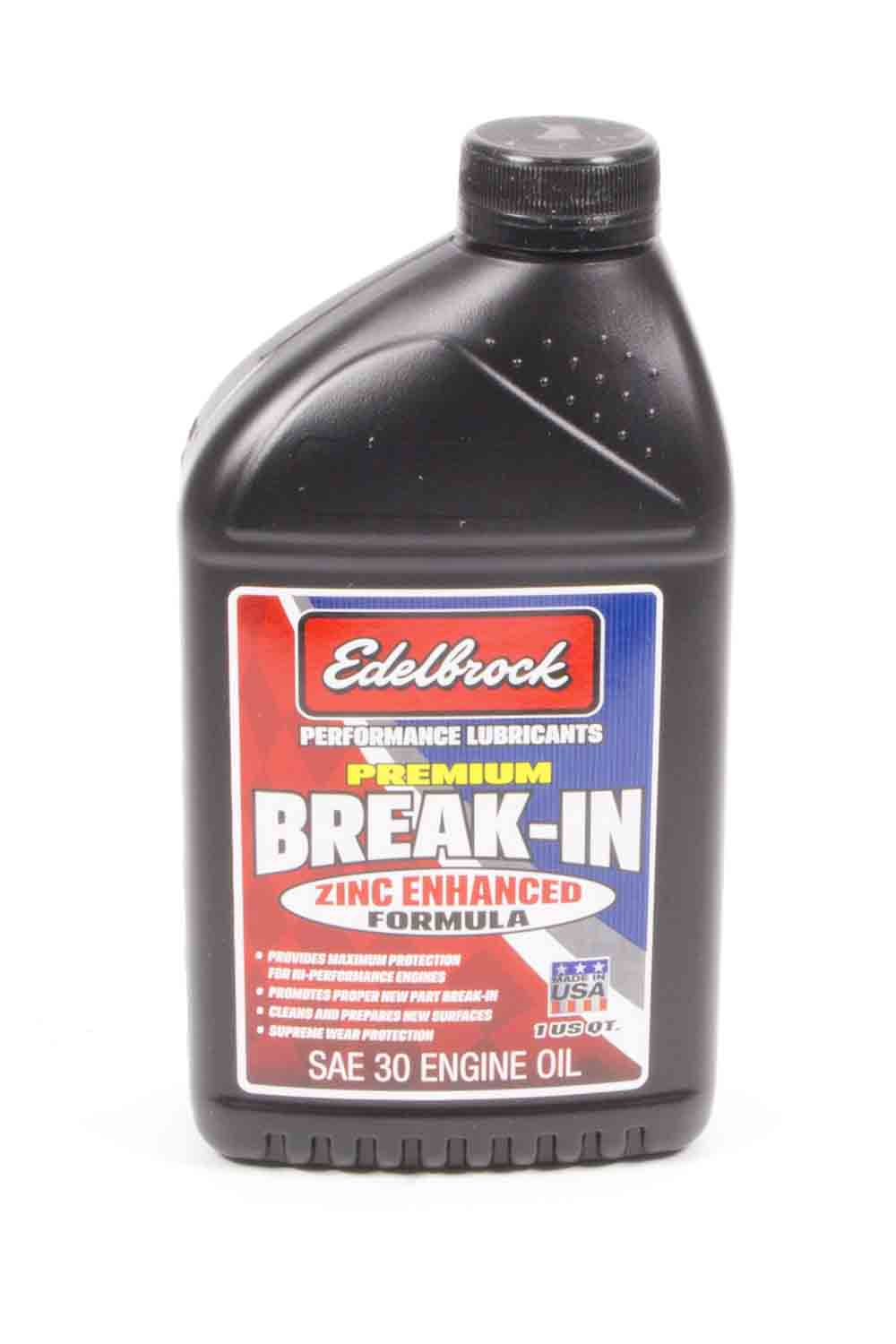 SAE 30 Break In Oil - 1qt.