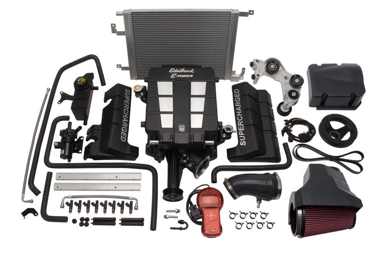 E-Force Supercharger Kit - 05-11 Mopar 6.1L Hemi
