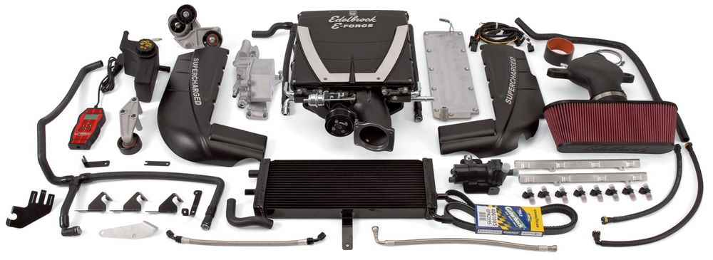 E-Force Supercharger Kit - 06-13 Vette Z06