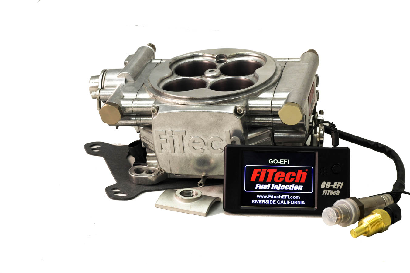 Go EFI 4 600hp Basic Kit Bright Tumble Finish