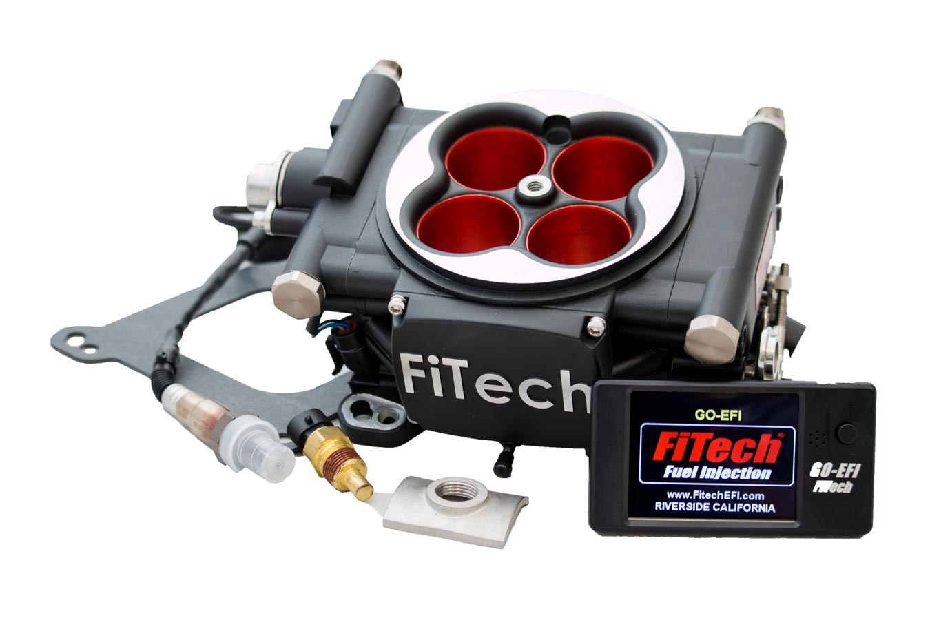 Go EFI Power Adder 600hp Kit Matte Black