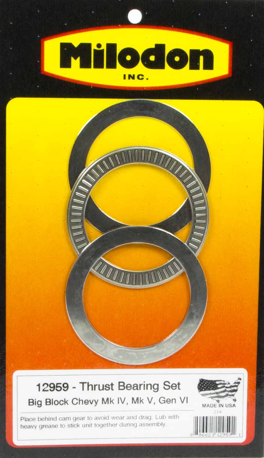 Bbc Thrust Bearing