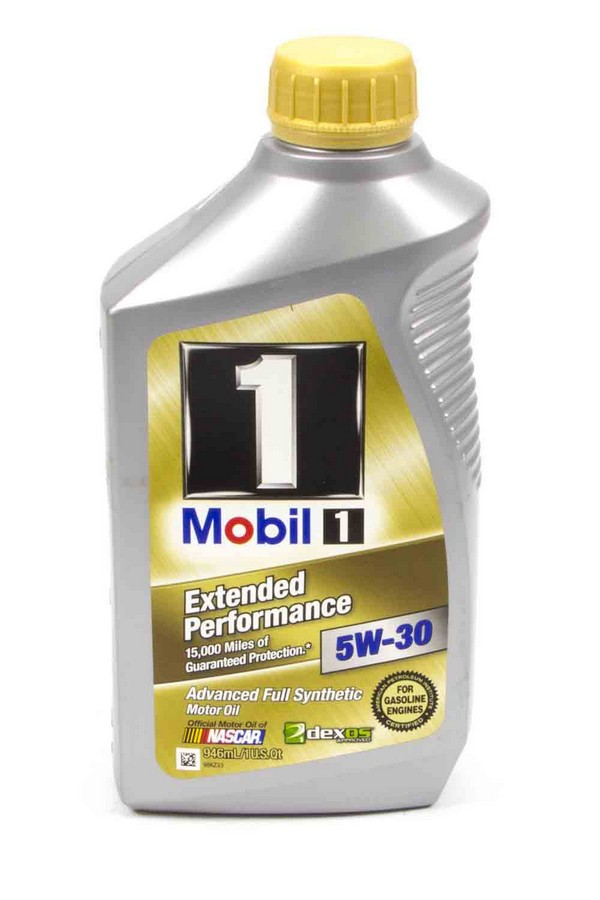 Mobil 1 14976 motor oil extended performance 5w30 for What is synthetic motor oil made out of