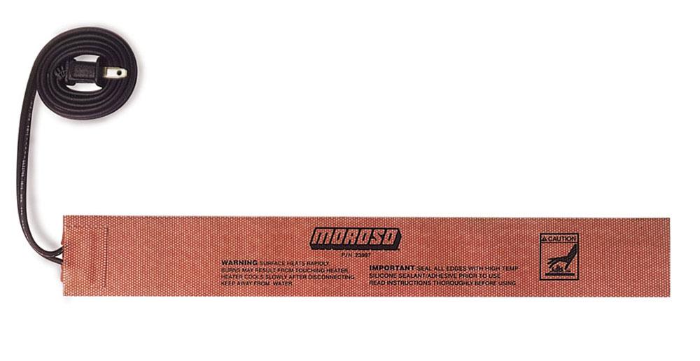 Moroso External Engine Oil Heater 2 X 5 In Pad P N 23997