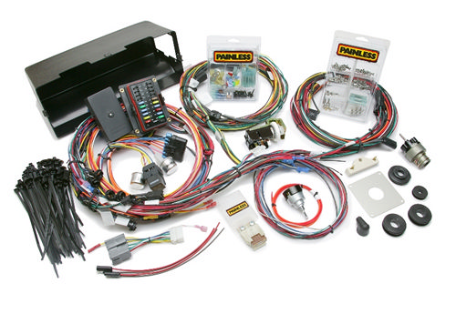 66-77 Bronco Wiring Harness w/Switches