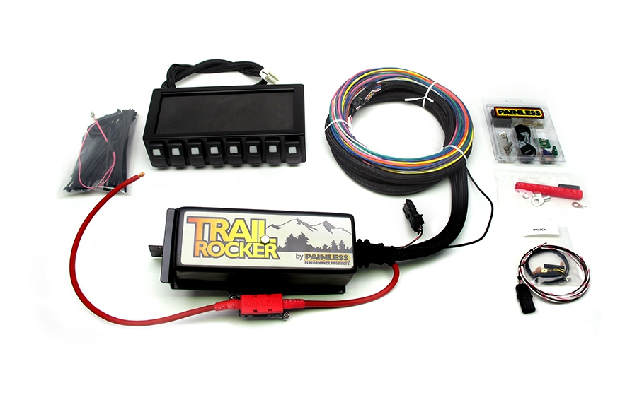 painless wiring 57040 trail rocker kit 97 06 jeep wrangler tj dash rh ebay com painless wiring jeep jk painless wiring jeep jk