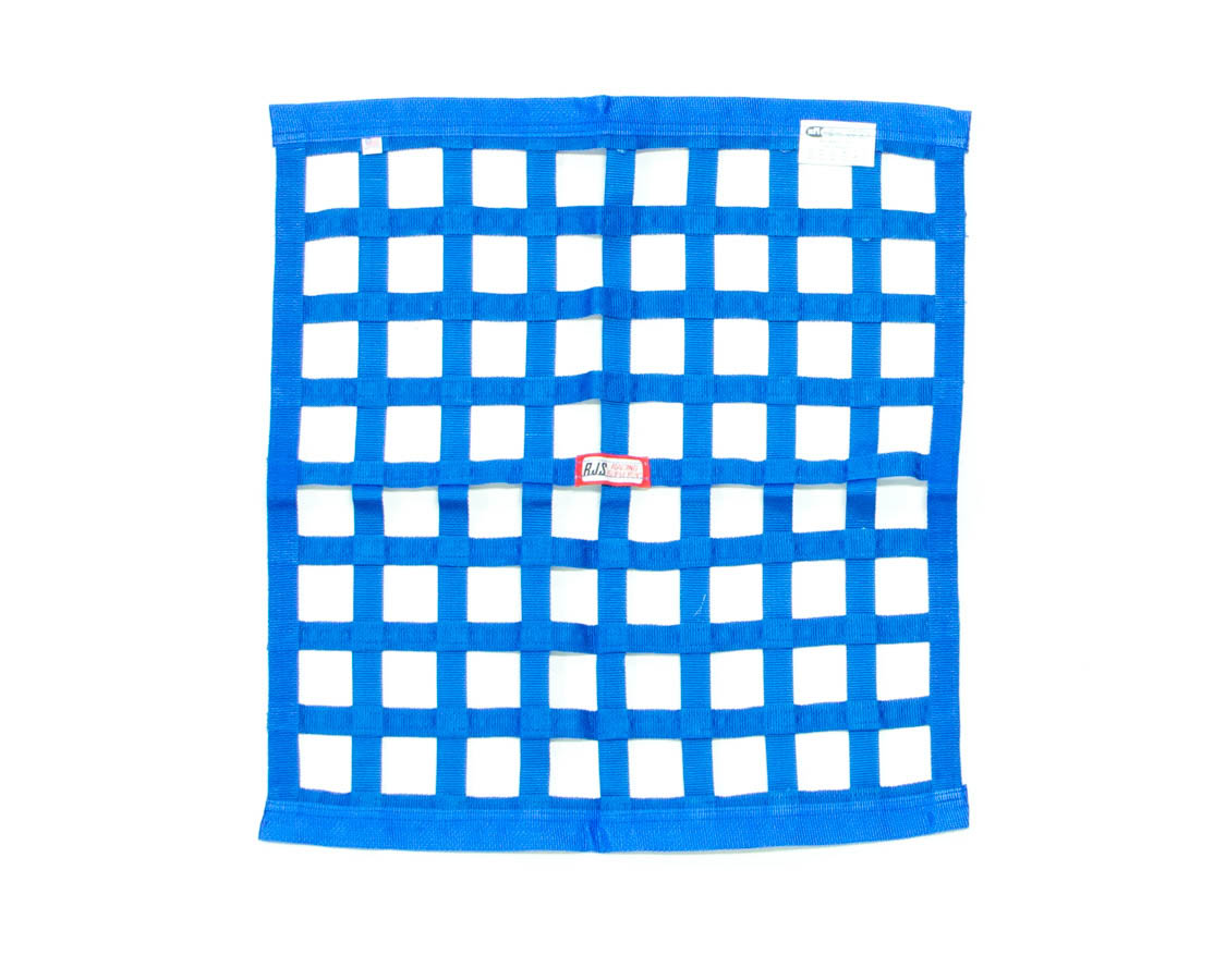 Ribbon Window Net 24x24 Blue SFI