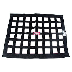 Ribbon Window Net 24x24 Black SFI