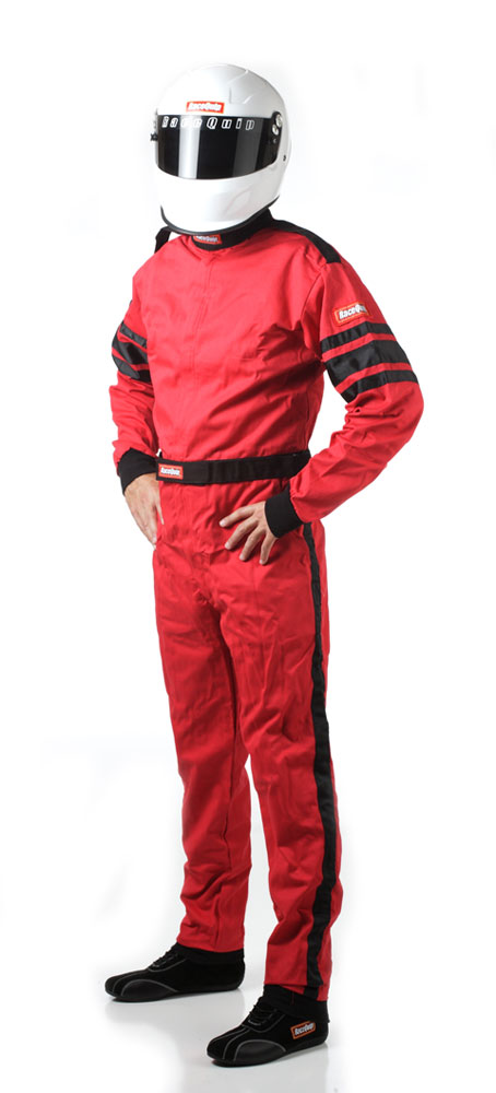 Red Suit Single Layer X-Large