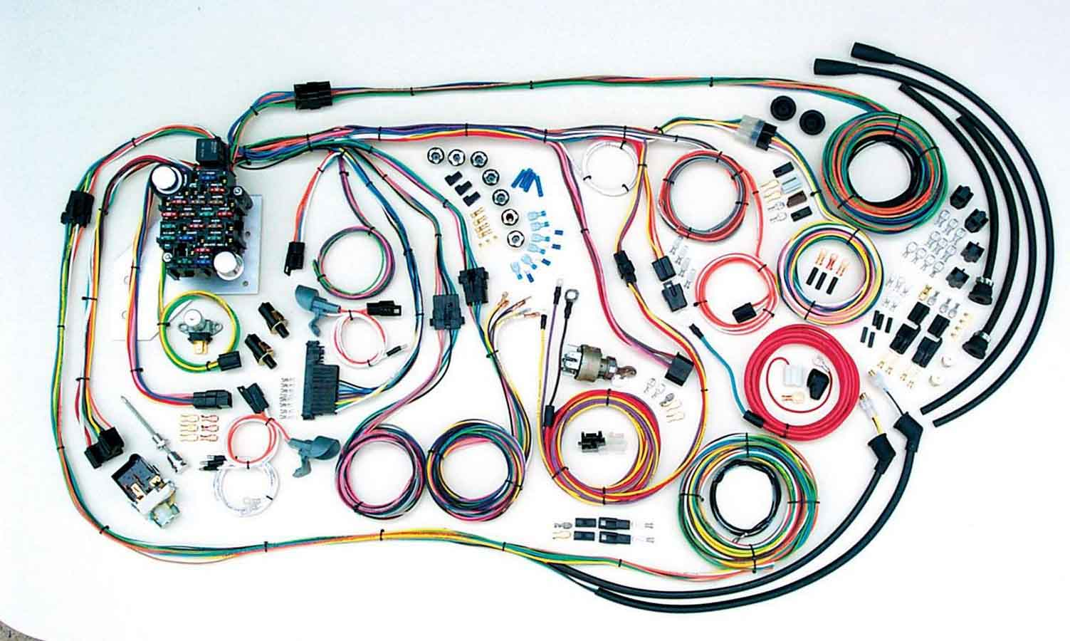 1957 Chevy Instrument Wiring Harness Library Painless For American Autowire System Truck 1955 59 Kit P N 500481 Ebay
