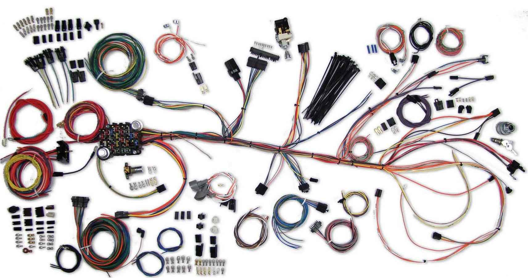 Grand Prix Auto Bully Dog Wiring Harness 64 67 Chevelle Wire System