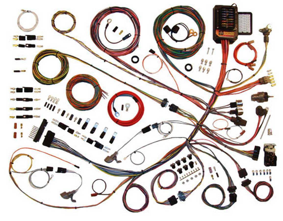 american autowire wiring system ford truck 1961 66 kit p n 510260 ebay harness ford kit wiring aa 2c2z14a411 ford wiring harness by american autowire #11
