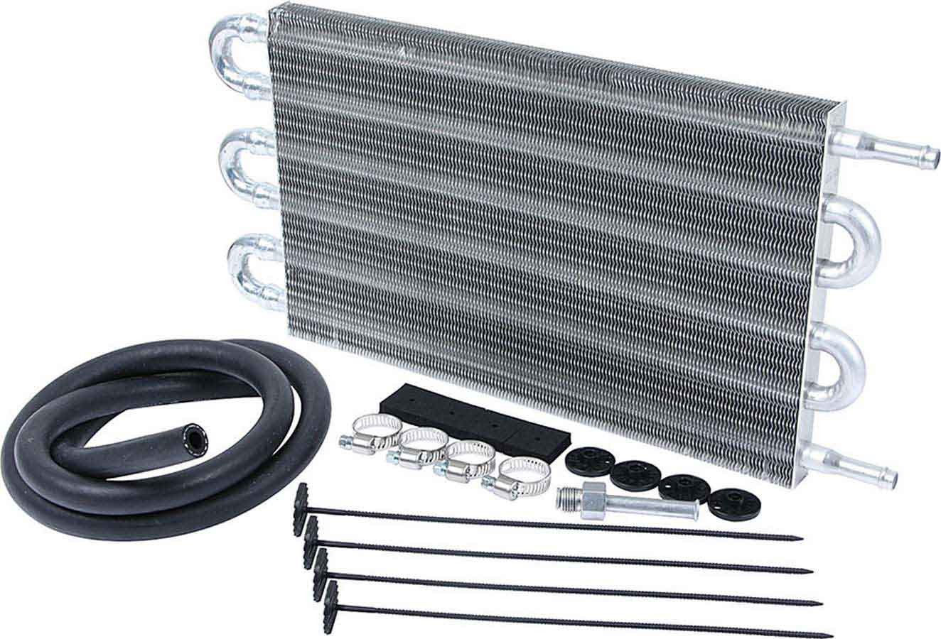 DERALE 11 x 8-3//4 x 7//8 in Plate Type Automatic Trans Fluid Cooler P//N 13503