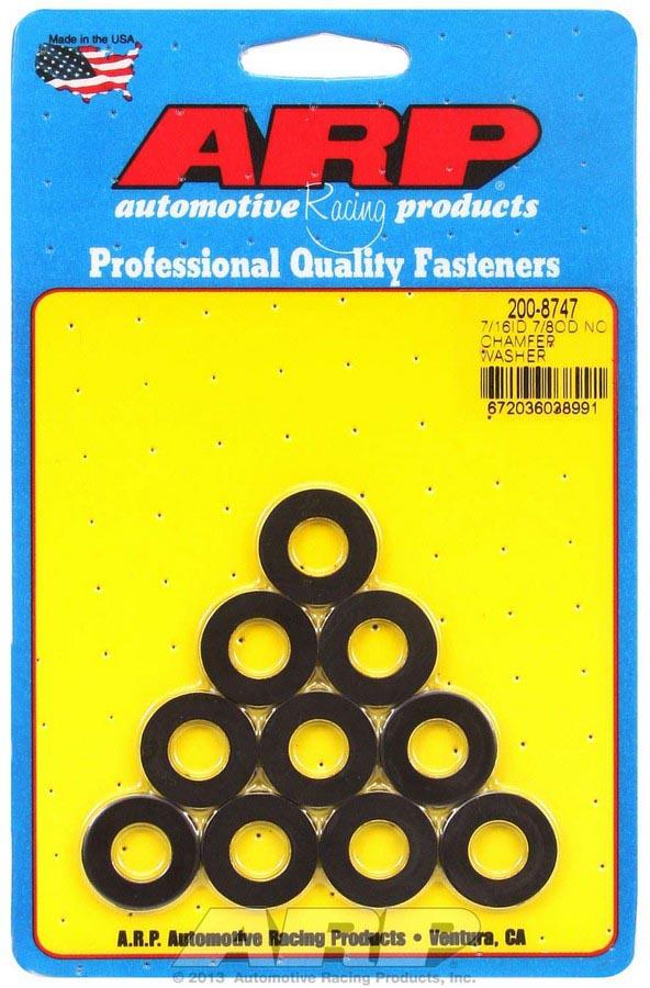 PN 200-8748 Arp Black Washers 10 7//16 ID x 7//8 OD