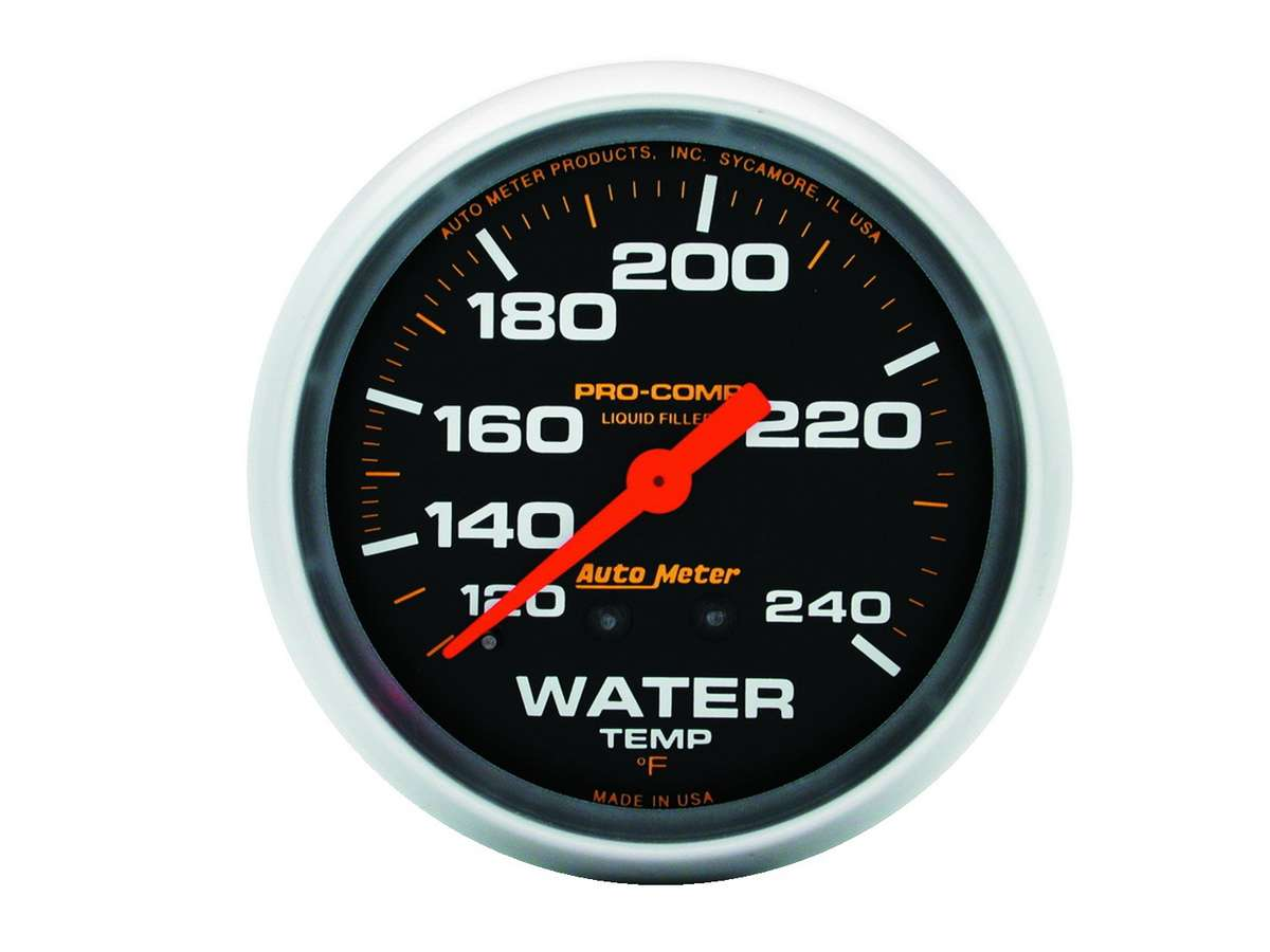 Auto Meter 3351 Sport-Comp Mechanical Transmission Temperature Gauge