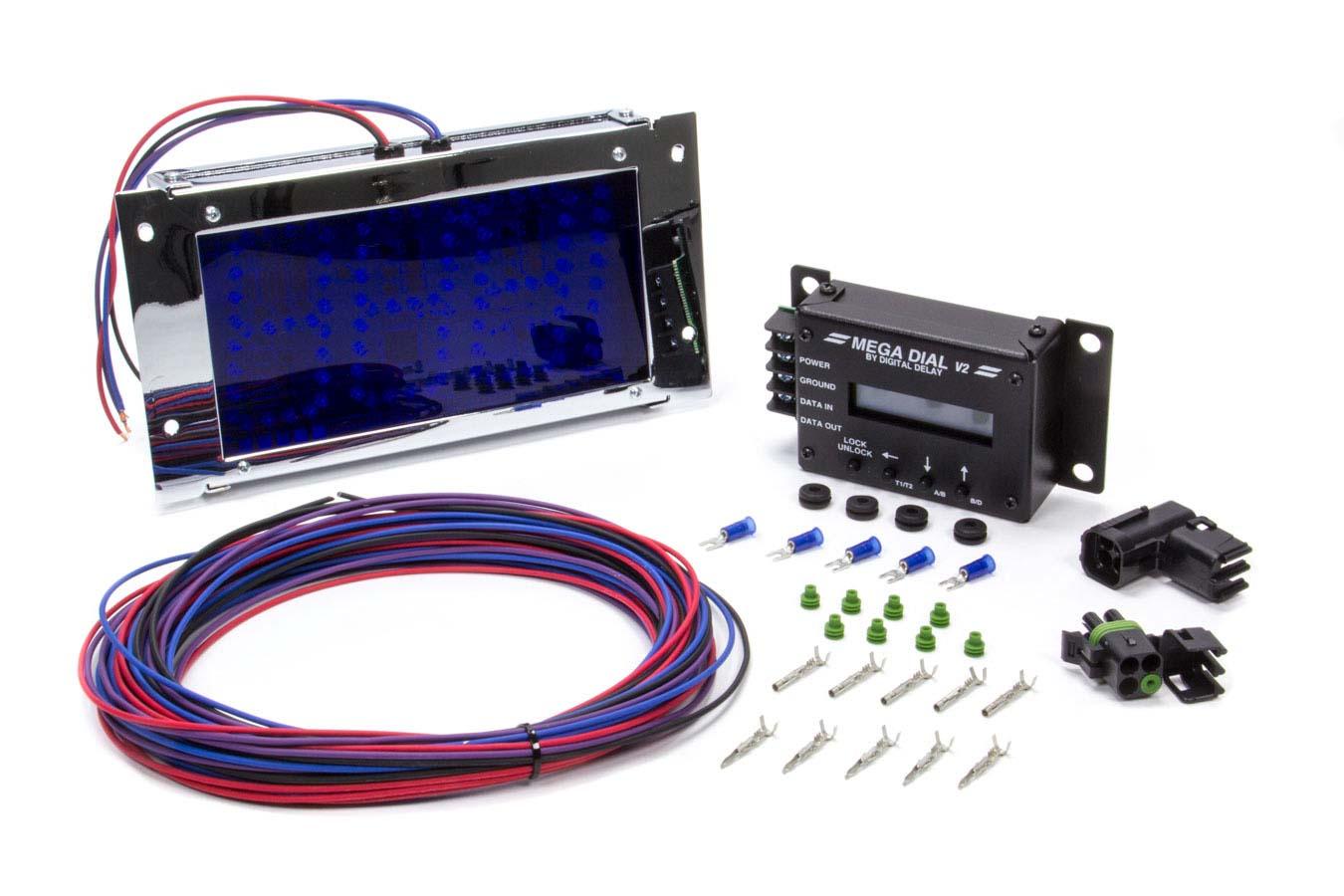 Racing Buy Drag Parts Biondo Delay Box Wiring Diagram Sentinel Green Led Digital Mega Dial In Board Kit P N Megadial