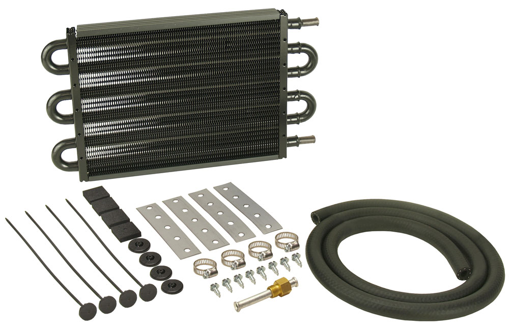 DERALE 15-1//4 x 10 x 3//4 in DynoCool Automatic Trans Fluid Cooler Kit P//N 12904