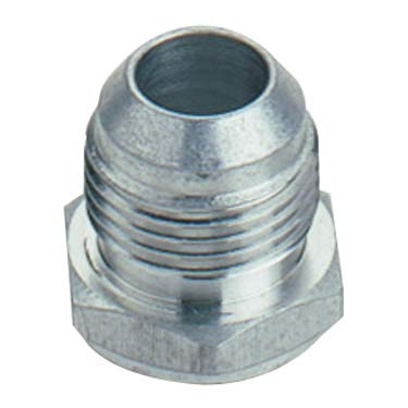 AEROMOTIVE 10 AN Male to 12 AN Male O-Ring Aluminum Straight Fitting P//N 15613