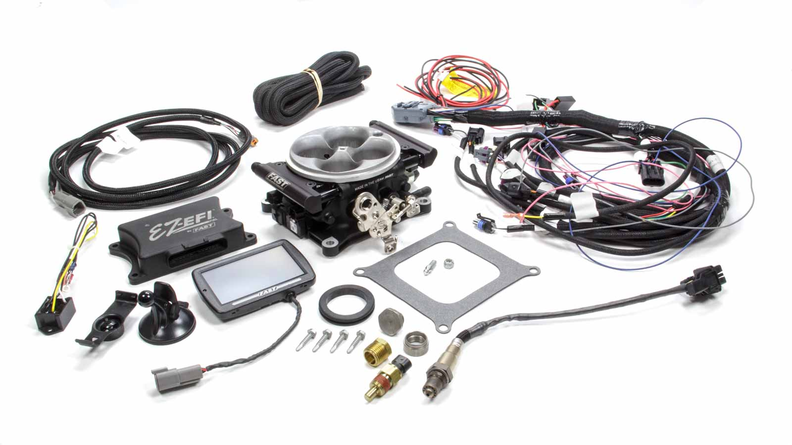Details about FAST ELECTRONICS Universal Base EZ-EFI Fuel Injection Kit P/N  30226-06KIT