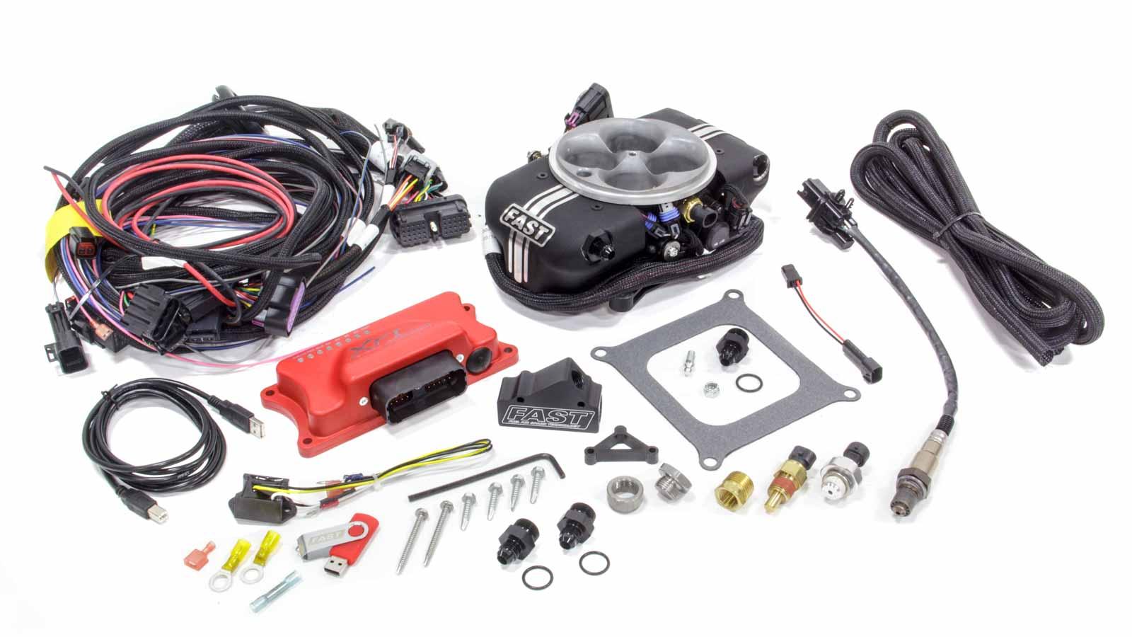 Details about FAST 1100 CFM Throttle Body XFI Sportsman Fuel Injection Kit  P/N 303001