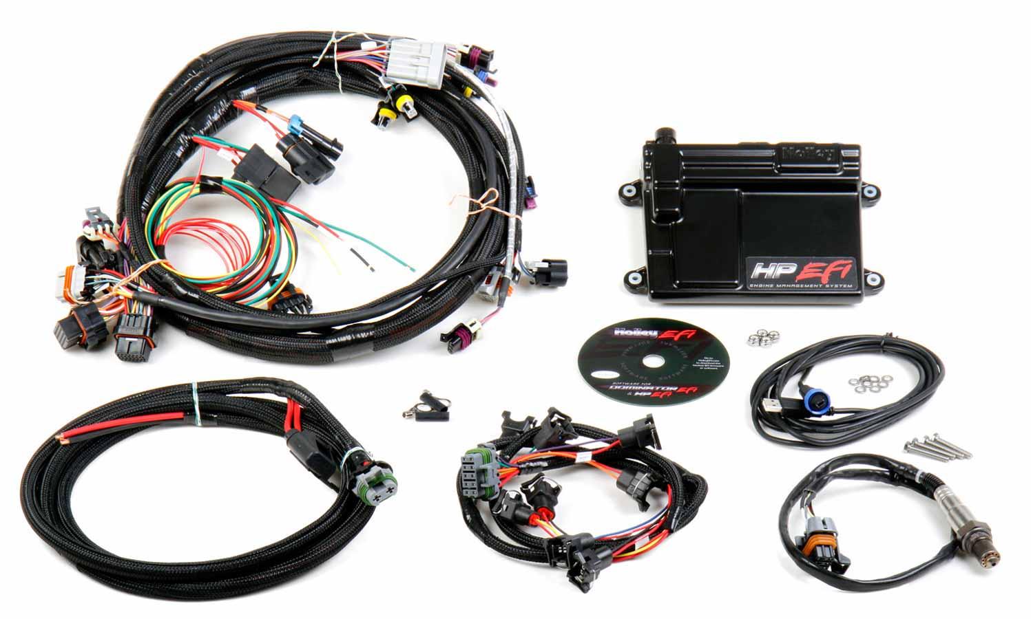 holley ecu & wiring harness ls1 p/n - 550-602