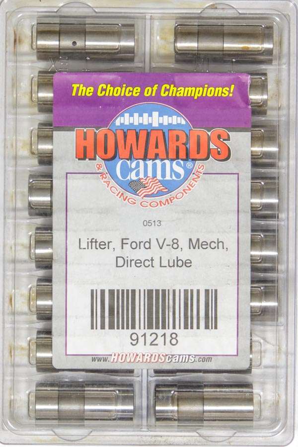 Solid Lifters - Ford V8 Direct Lube