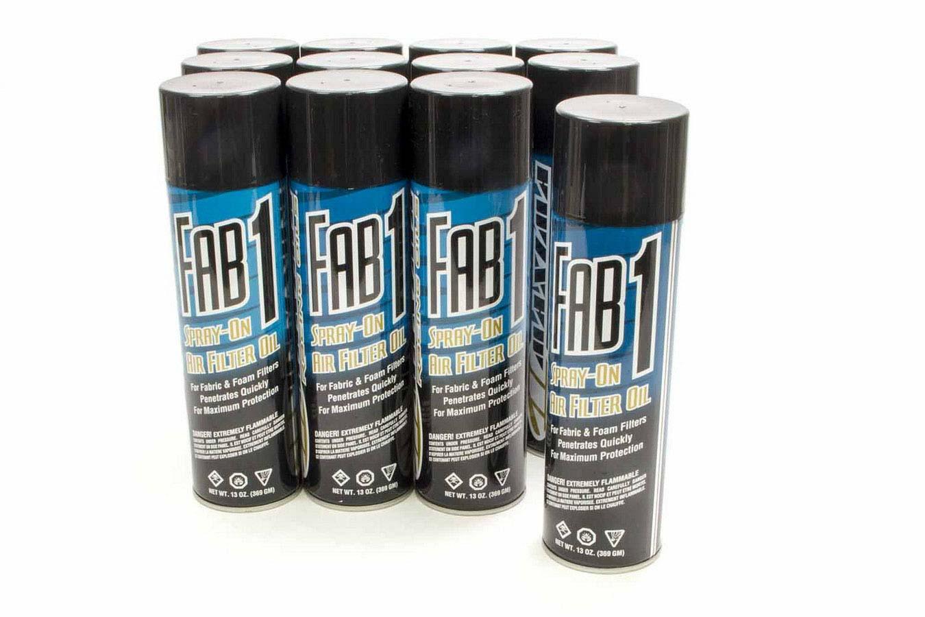 FAB1 Air Filter Oil 13oz (Case 12)