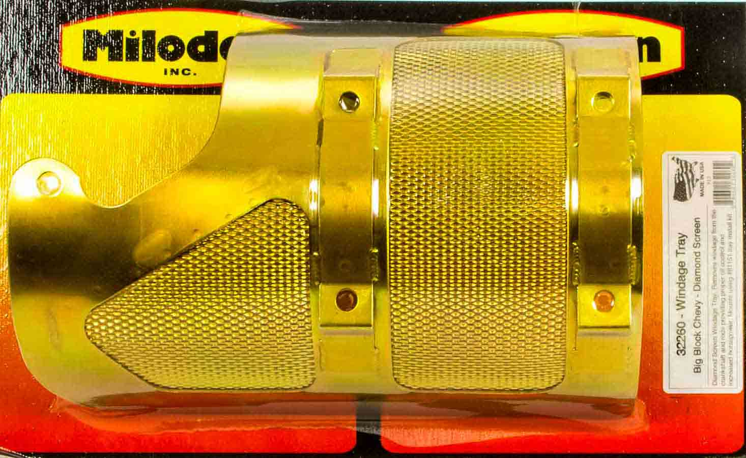 SBC 350 Windage Tray w/RH Dipstick