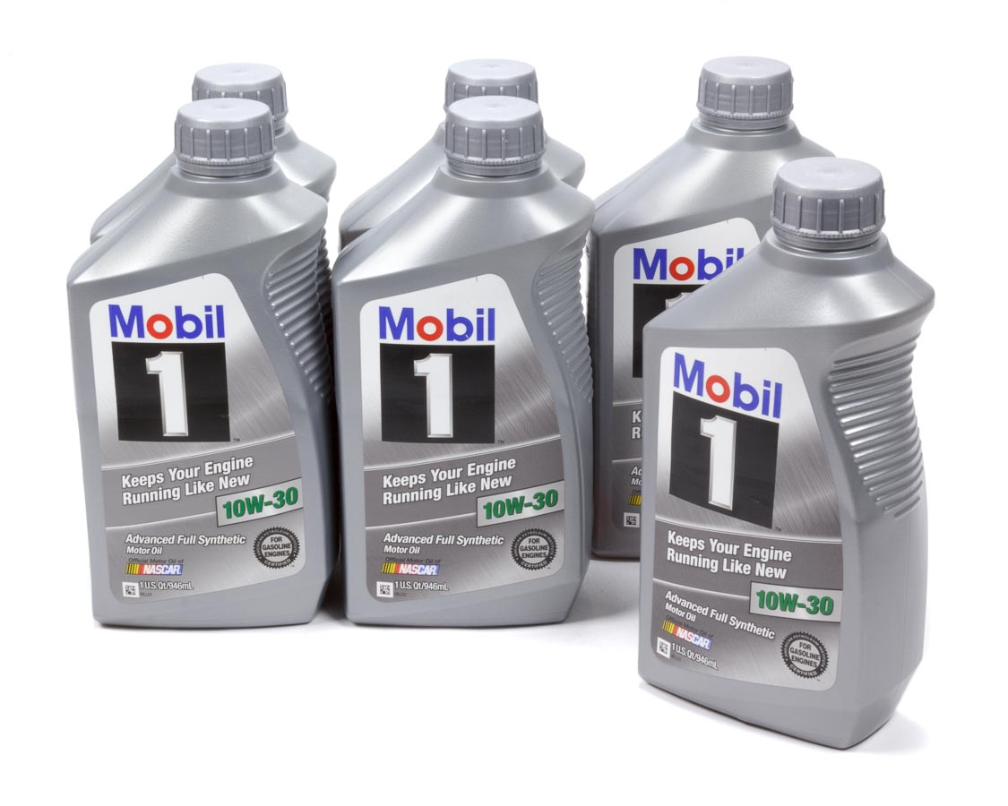 Mobil 1 10w30 Synthetic 1 Qt Motor Oil 6 Pc P N 102992