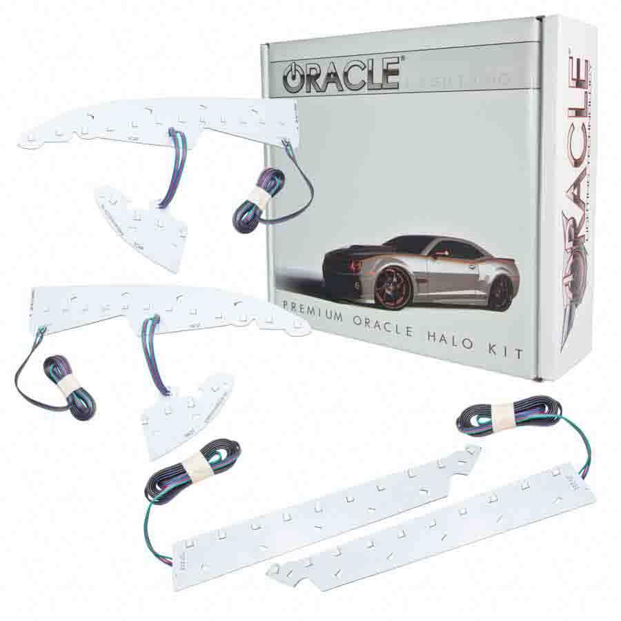 For GMC Sierra 1500 14-17 Oracle Lighting SMD Amber Halo Kit for Fog Lights