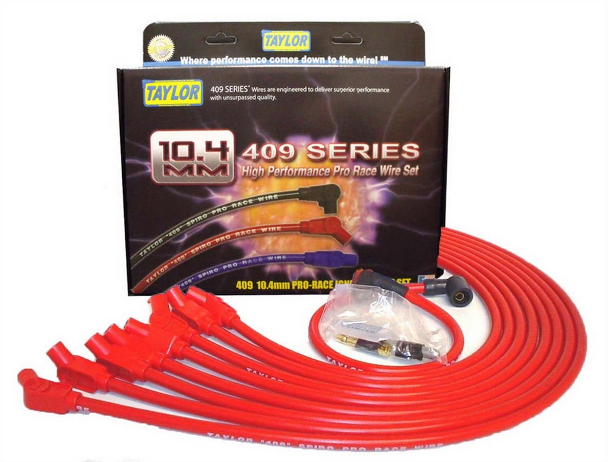 Taylor Cable 45969 Blue 10.4mm 409 Spiro-Wound Core Coil Wire Repair Kit