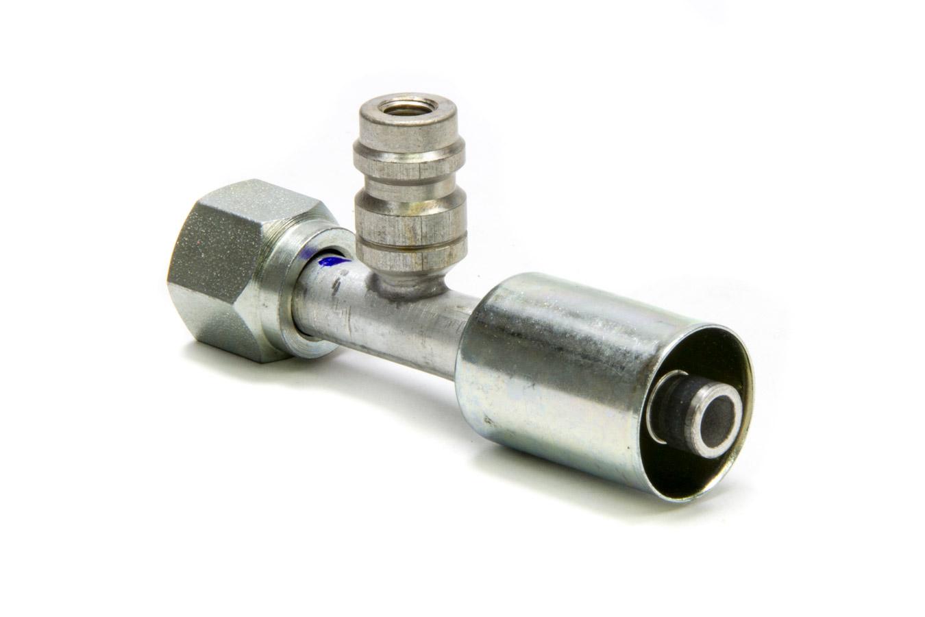 Vintage Air #8 45 Degree Beadlock O-Ring Fitting w//Port